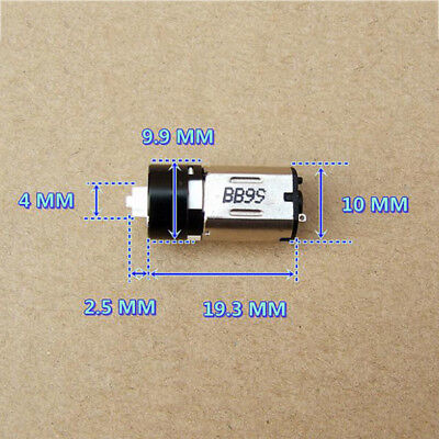 Mini N10 10mm Planetary Gearbox Gear Motor DC 3V-5V 72RPM-120RPM For Robot 1:150
