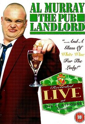 Al Murray - A Glass Of White Wine For The Lady (DISC ONLY) DVD Stand-Up Live