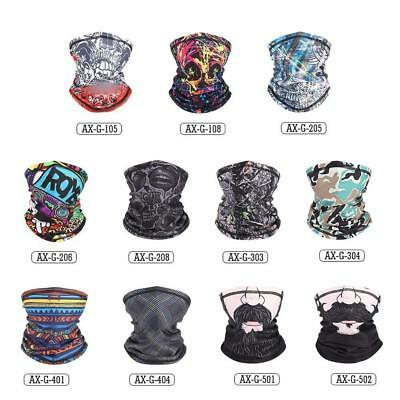 Motorcycle Snowboard BALACLAVA Ski Cycling Half Face Mask Neck Warmer Cover SD