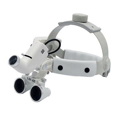 5W LED Medical Surgical Dental Headlight Headlamp Head Light Lamp w/ 3.5X Loupes
