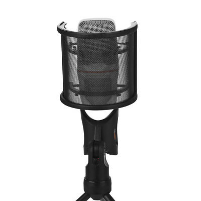 Recording Studio 2 Layer Pop Filter Double Layer Microphone Mic Windscreen