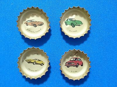 RARE Coca-Cola Bottle Top Crown Others series/number 4 JAPAN soda/234