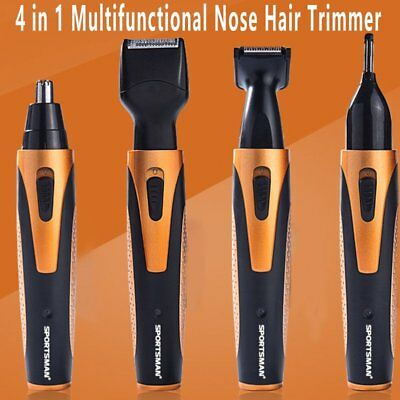 4 in 1 Multifunctional Nose Hair Trimmer/Shaver/Hair Clipper/Eyebrow TrimmerXF