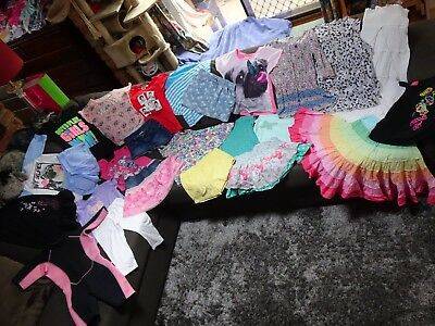 Bulk lot girls sz 8 summer clothes: Milkshake/Mambo/Pumpkin Patch/Mango/wetsuit