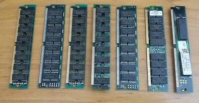 Lot of 7x 72 pin RAM for PC