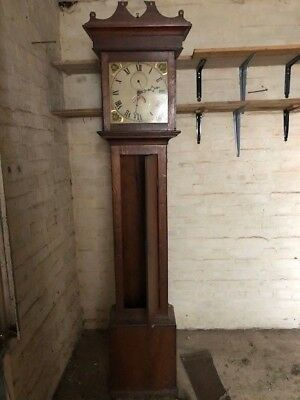 Antique Longcase Grandfather Clock for restoration
