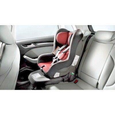 New Genuine Audi G1 Child Isofix Seat – Red/black Up To 9-18Kg 12-48 Months