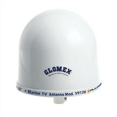"Glomex 10"" Dome TV Antenna w/Auto Gain Control & Mount"