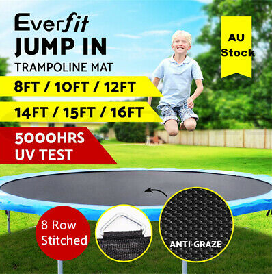 Everfit Replacement Trampoline Mat Spring Round Spare Outdoor 10/12/14/15FT New