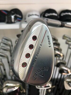 Callaway Mack Daddy 4 Lob Wedge / 60 Degree / S Grind / S200 Shaft / Right Hand