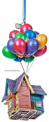 """In Stock Now ~Disney Store~ Licensed 2018 """"up House"""" Sketchbook Ornament"""