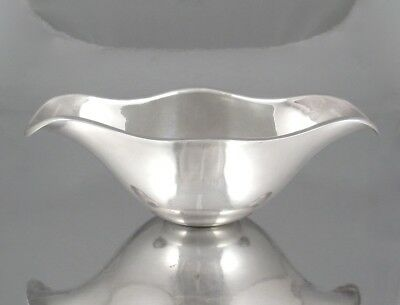Antique French Christofle Silver Plate Gravy Boat, Sauce Boat, 19th century