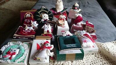 FANCY FEAST VINTAGE COLLECTOR'S ORNAMENTS.  Lot of 13!