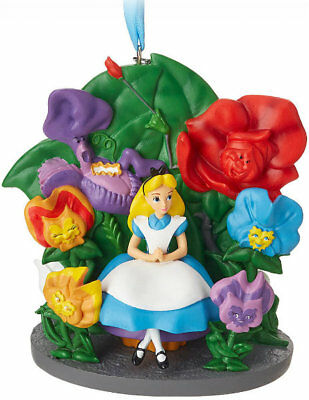 "New ~Disney Store~ Licensed 2018 ""alice In Wonderland"" Sketchbook Ornament"