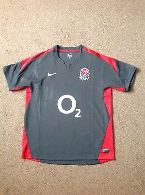 Nike England Rugby Union Shirt - Size Medium. Used and in Excellent Condition