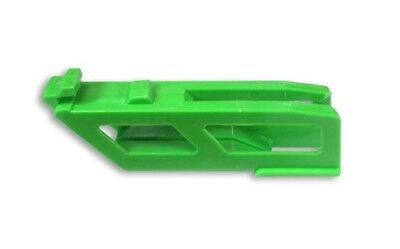 T.M. Designworks Rear Chain Guide Inner Rub Block Green KX250F KX450F 2009-2019