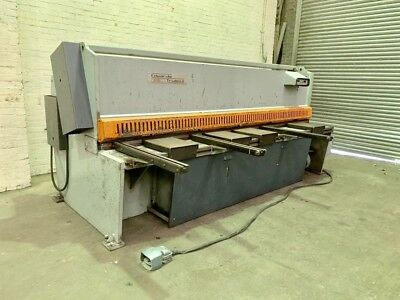 Edwards Truecut Hydraulic Sheet Metal Guillotine