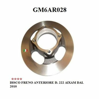 Brake Disc Front D.222 Aixam From 2010 Gm6Ar028