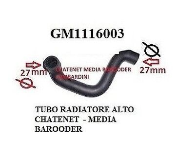 Hose Radiator Thermostat Chatenet Media - Barooder With Lombardini Gm1116003