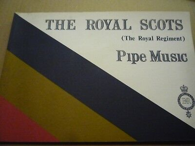 Royal Scots Pipe Music book