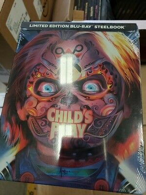 Child's Play - Limited Edition Best Buy Steelbook (Blu-ray) BRAND NEW!!