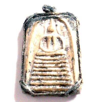 Pendant Necklace Phra Somdej Dungeon Kru Magic Holy Great Kindness Safe All B50