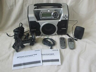 SIRIUS ST2-r Starmate 2 satellite radio with Boombox everything included