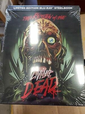 The Return of the Living Dead - Limited Edition Best Buy Steelbook (Blu-ray) NEW