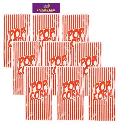 Small Paper Popcorn Bags Retro Cinema Movie Film Night Party Sweet Candy Treat