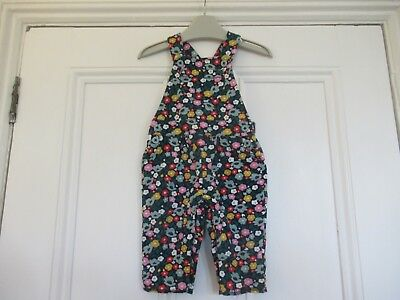 3-6m: Lovely floral dungarees: Cotton jersey: Baby Boden: Good condition