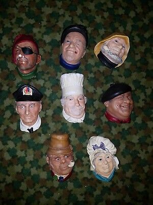 Bossons Collectible Heads Lot