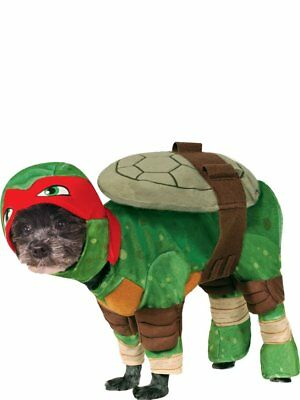 "Raphael Dog Coat Costume. Teenage Mutant Ninja Turtles. Large 22"" Neck To Tail."