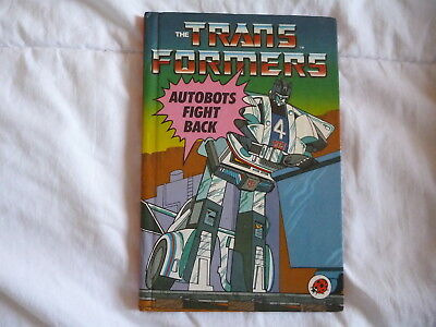 Vintage 1985 Ladybird Book - The Transformers Autobots Fight Back -First Edition