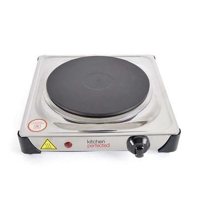 1500w SINGLE Portable ELECTRIC HOTPLATE Cooking Hob Stove Cooker Boiling Ring