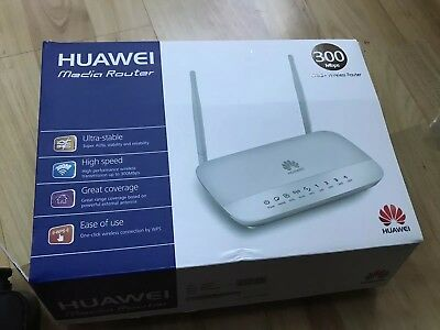 WIFI MODEM ROUTER HUAWEI HG532d with charger and cable