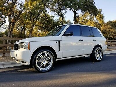 2008 Land Rover Range Rover  * BEAUTIFUL 2008 LAND ROVER - Range Rover Supercharged 4.2l FULL SIZE *