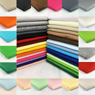 20 Colours ACRYLIC FELT BAIZE FABRIC For Poker Card Tables  60 inches Wide!