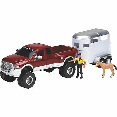 Imagination Adventure Dodge Ram with Horse Trailer Set - 4-Pc. Playset