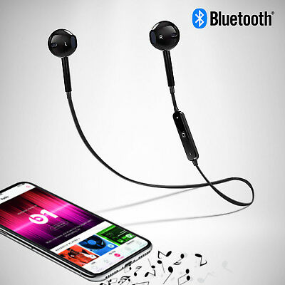 Bluetooth Wireless Headset Sport Headphones Stereo earphone earbuds with mic