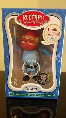 Yukon 50th Anniversary limited edition collectible talk and sing SEALED BOX NEW