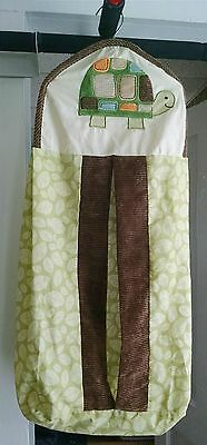 Tiddliwinks Woolrich Hanging Diaper Stacker Bag Turtle Woodland Set