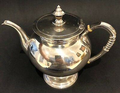 Antique Imperial Russian 84 Sterling Silver Tea Pot