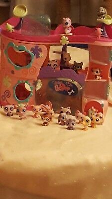 lot de petshop figurines