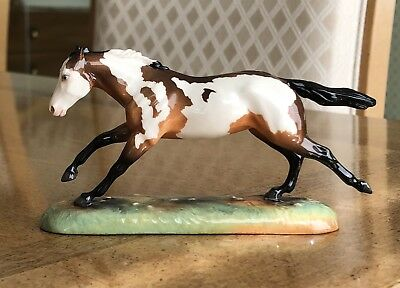 Alchemy / Animal Artistry OOAK RUNNING PAINT QUARTER HORSE on Stand