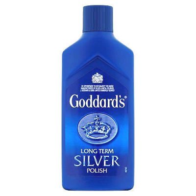 6 x Goddards Long Term Silver Polish Jewellery Cleaner Polishing Shine 125ml New