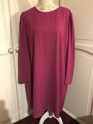 New Marks And Spencer Size 22 Magenta/Pink Dress