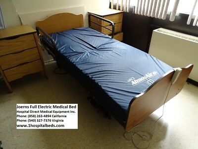 Joerns Long Term Care Home Care Bed - Full Electric Hospital bed