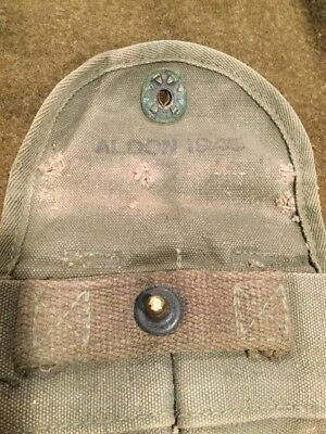 ALDON 45 US Military Army USMC WW2 M1 Carbine Rifle Belt M-1 Mag Magazine Pouch