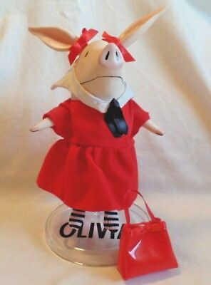 Madame Alexander OLIVIA the PIG Doll with stand and SCHOOL DAYS outfit