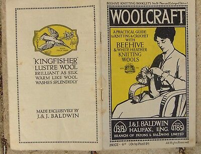 Vintage Beehive Knitting & Crochet Booklet No 9